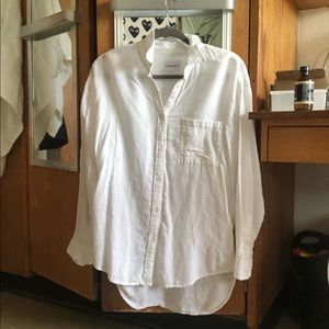 Community White Button Down